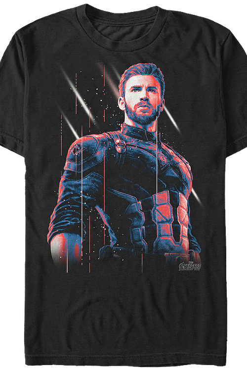 Unmasked Captain America T-Shirt
