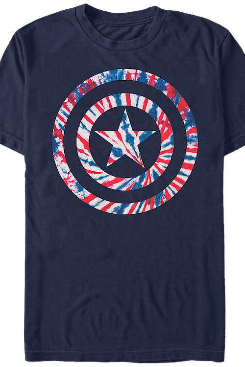 Tie Dyed Captain America T-Shirt