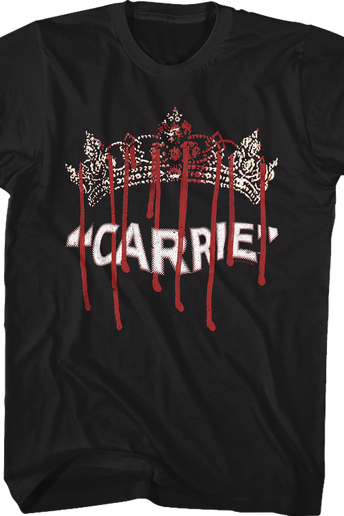 Prom Crown Carrie T-Shirt