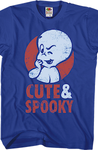 Cute and Spooky Casper the Friendly Ghost T-Shirt