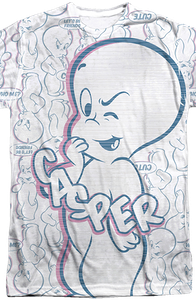 Collage Casper the Friendly Ghost T-Shirt