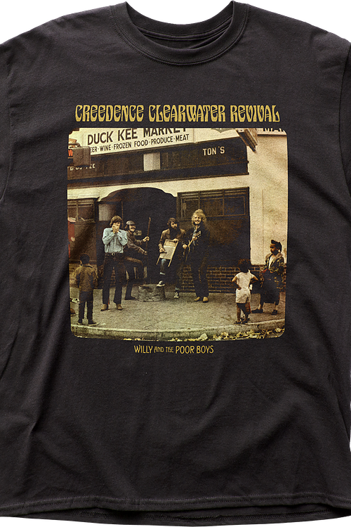 Willy And The Poor Boys Creedence Clearwater Revival T-Shirt
