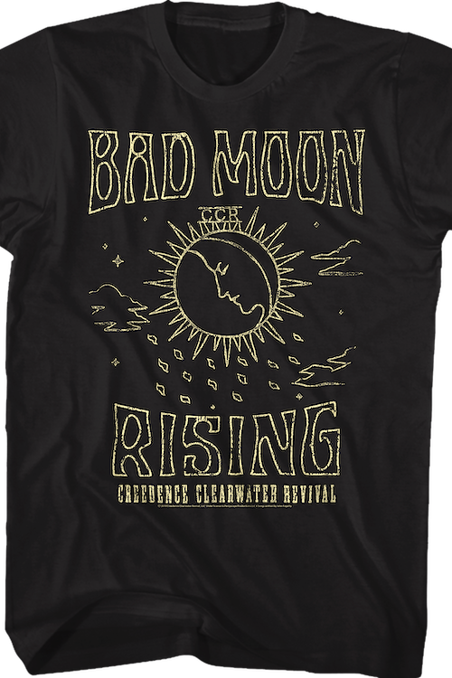 Bad Moon Rising Creedence Clearwater Revival T-Shirt