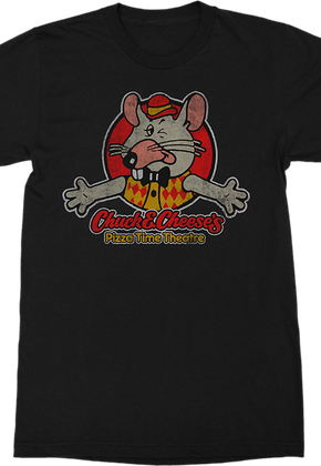 Pizza Time Theatre Chuck E. Cheese's T-Shirt