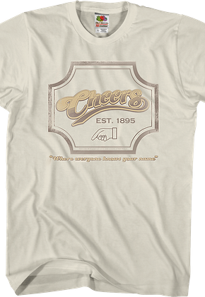 0d72f624449 Cheers shirt  Buy Cheers shirts with Norm - 80sTees