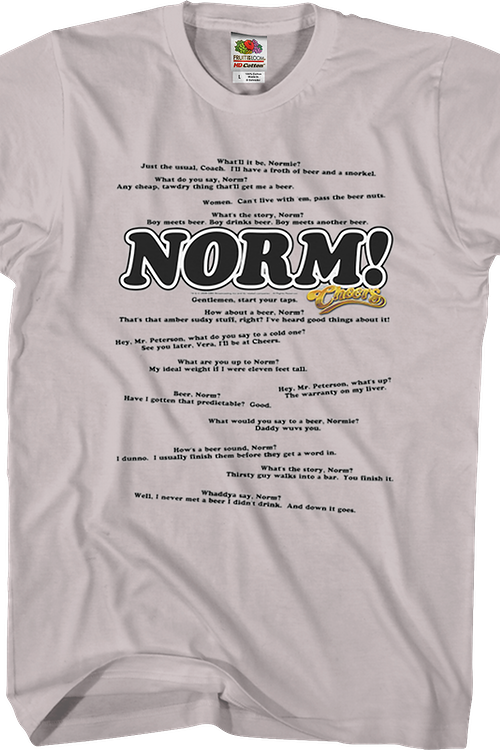 Normisms Cheers T-Shirt