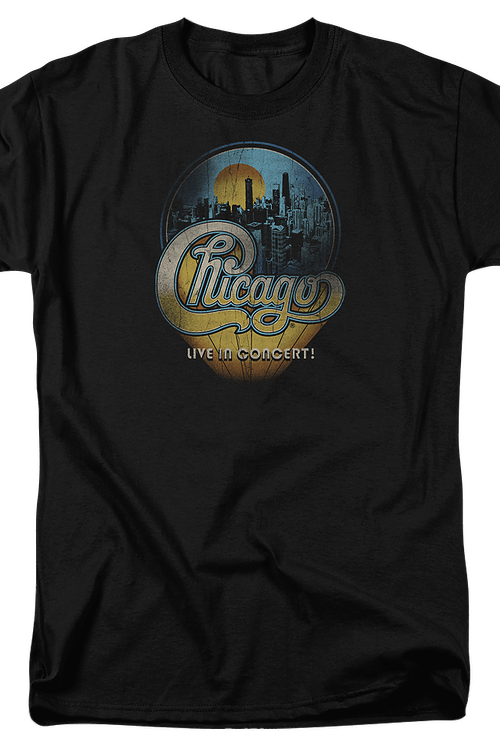 Live in Concert Chicago T-Shirt
