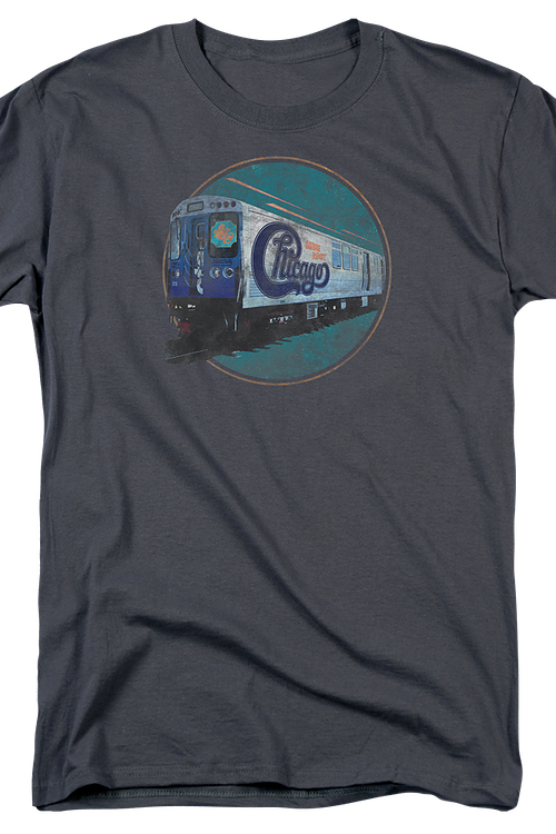 Traincar Chicago Band T-Shirt