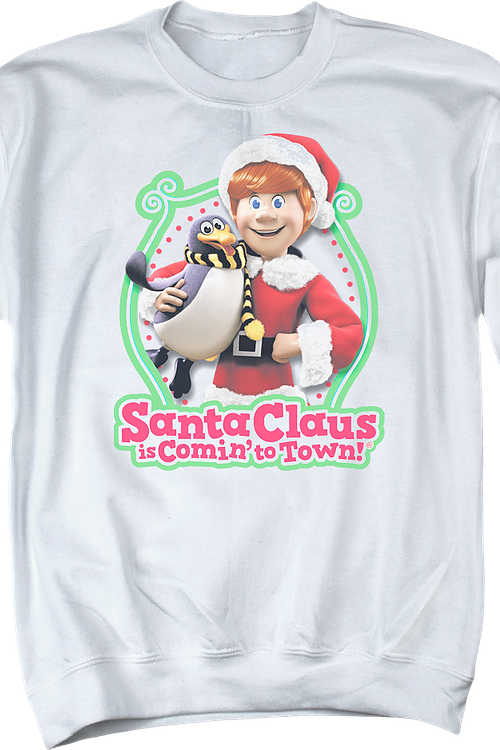 Santa Claus Is Comin' To Town Sweatshirt
