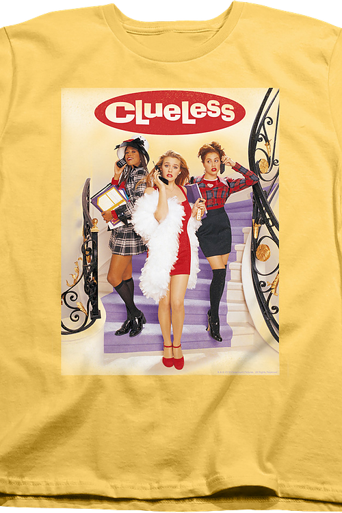 Womens Movie Poster Clueless Shirt