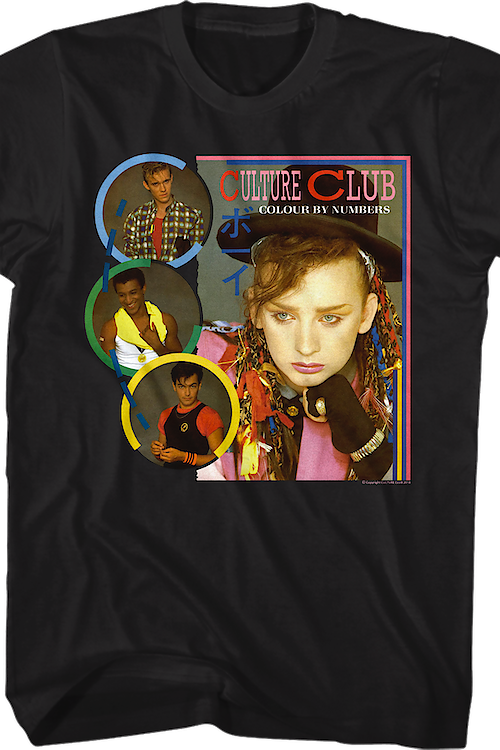 Colour By Numbers Culture Club Shirt