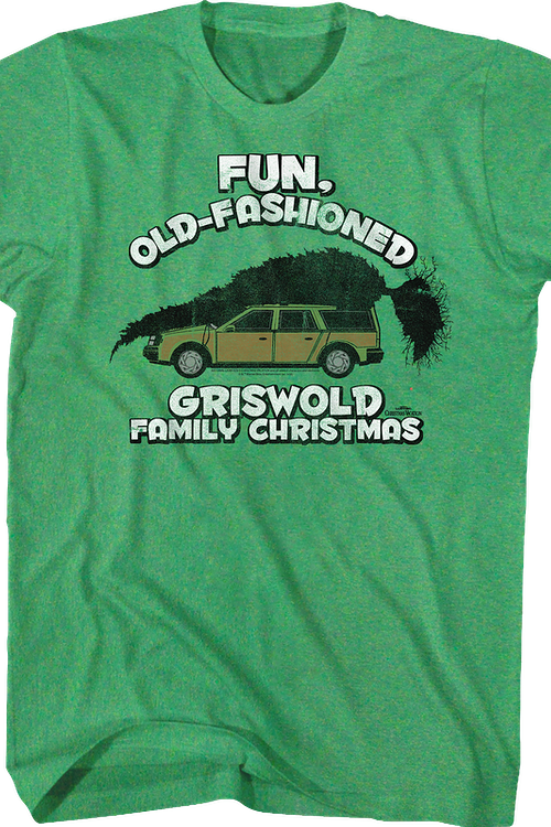 Old Fashioned Griswold Christmas Shirt