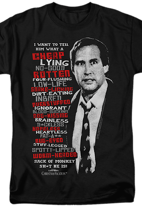 Clark Griswold Rant Christmas Vacation T-Shirt