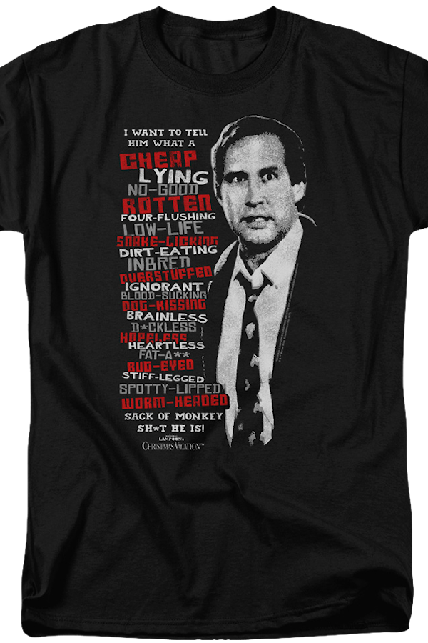 Clark's Griswold's Rant Christmas Vacation T-Shirt