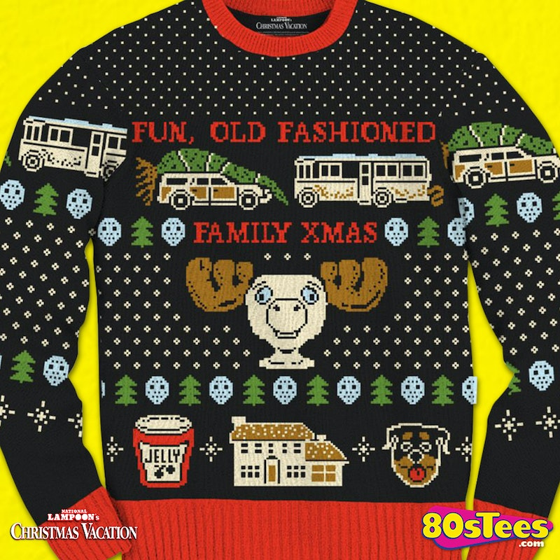 Christmas Vacation Sweaters.Old Fashioned Christmas Vacation Ugly Sweater