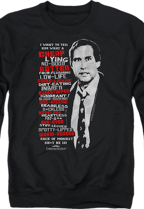 clark griswold rant christmas vacation sweatshirt