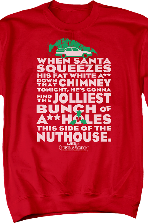 Jolliest Bunch Christmas Vacation Sweatshirt