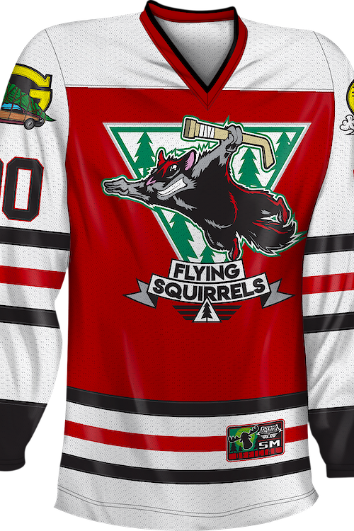 Flying Squirrels Christmas Vacation Hockey Jersey
