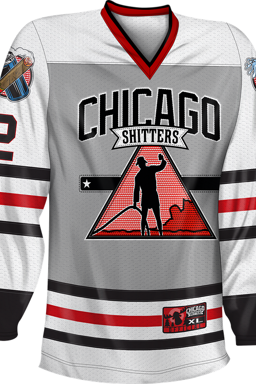 finest selection 5c0da e5123 Chicago Shitters Christmas Vacation Hockey Jersey
