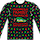 Faux Ugly Sweater Christmas Vacation Long Sleeve Tee