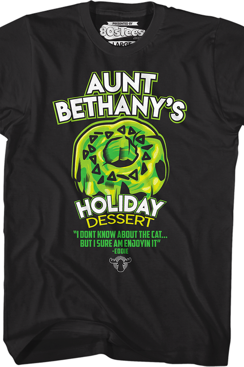 Aunt Bethany's Holiday Dessert Christmas Vacation T-Shirt