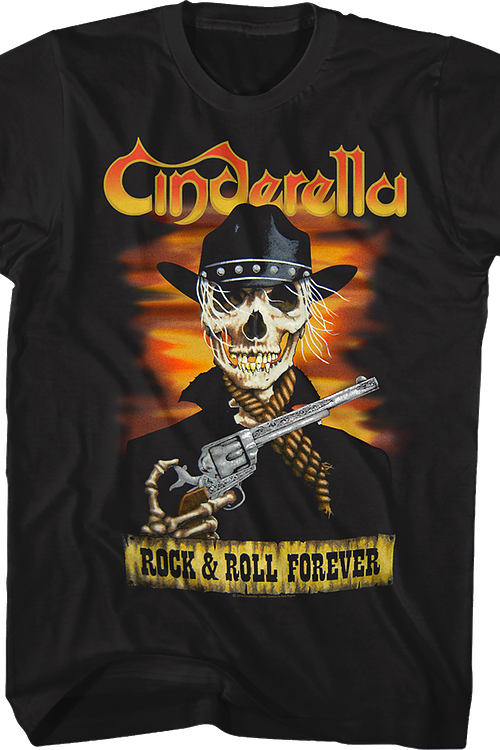 Rock and Roll Forever Cinderella T-Shirt