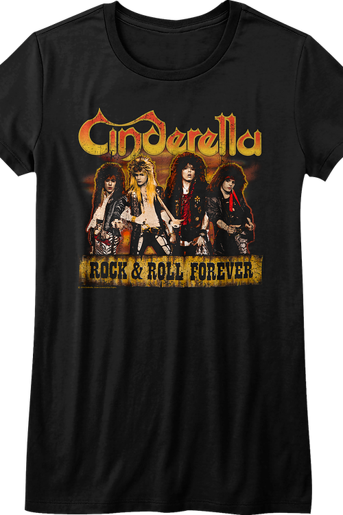 Junior Rock and Roll Forever Cinderella Shirt
