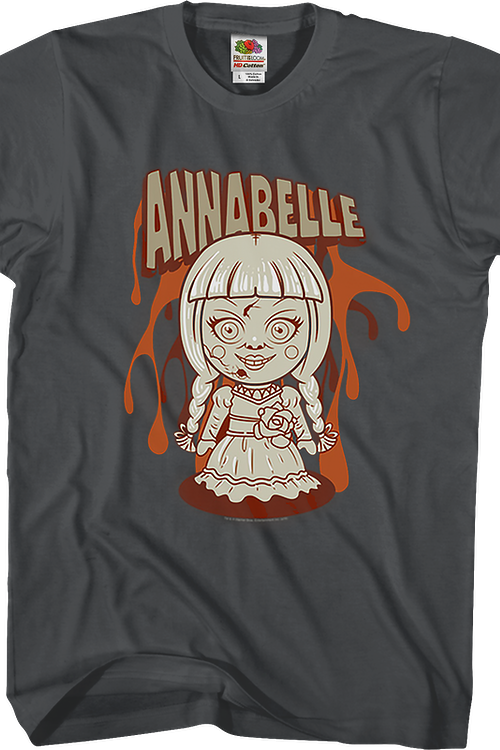 Animated Annabelle Conjuring T-Shirt