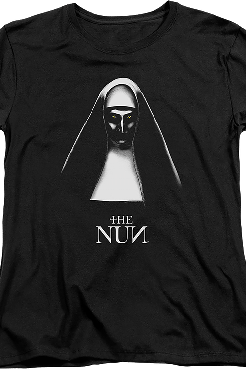 Womens The Nun Conjuring Shirt