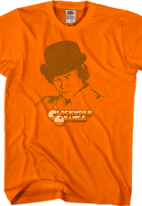 Distressed Clockwork Orange T-Shirt