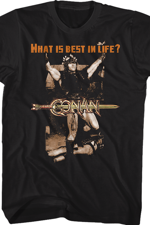 8ce9d1bac What is Best In Life Conan the Barbarian T-Shirt