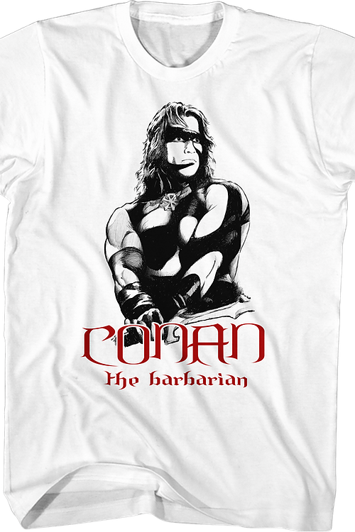 War Paint Conan The Barbarian T-Shirt