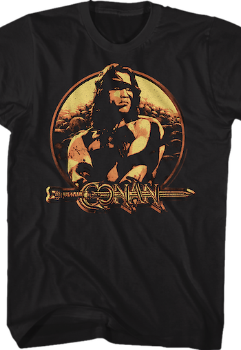 Distressed Conan The Barbarian T-Shirt