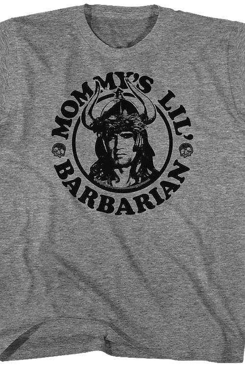 Youth Mommy's Conan The Barbarian Shirt