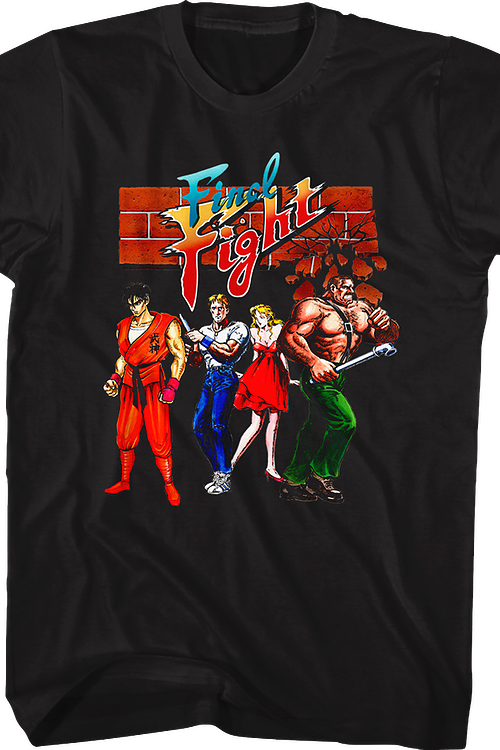 f67d2dcf049 Final Fight T-Shirt  Capcom Mens T-Shirt