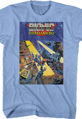 Cartridge Art Bionic Commando T-Shirt