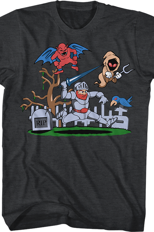 Arthur vs The Undead Ghosts 'N Goblins T-Shirt