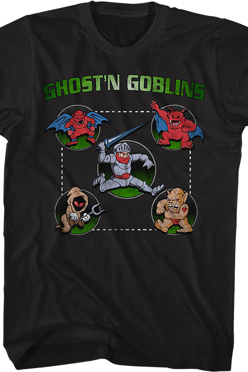 Path to Victory Ghosts 'N Goblins T-Shirt