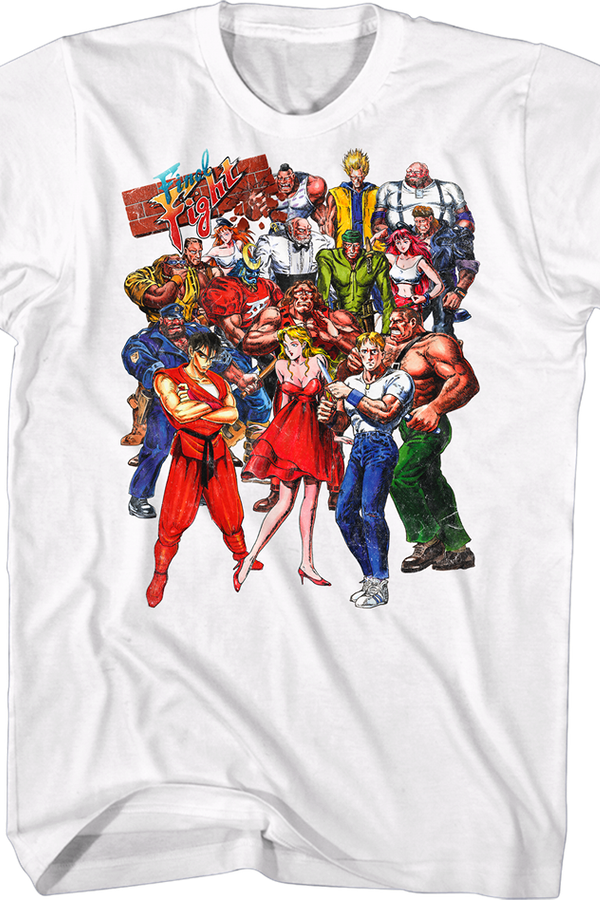 Characters Final Fight T-Shirt