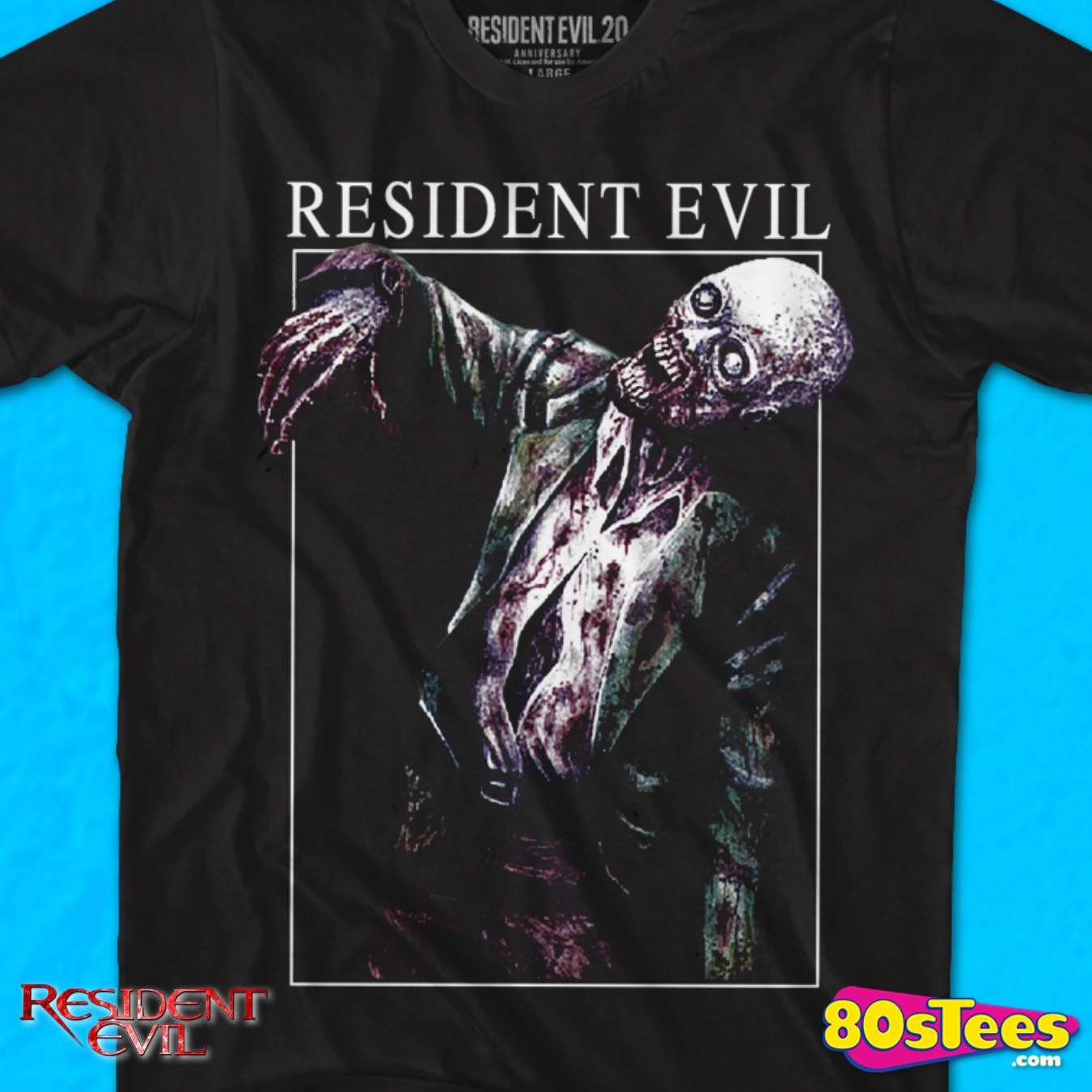 Raccoon Police Resident Evil Zombie Vampire Horror Cult 90S T Shirt