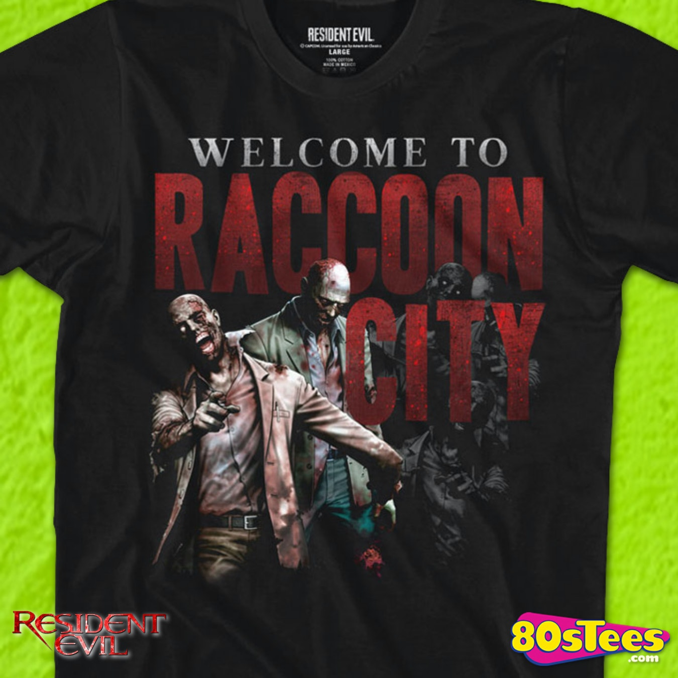 Vintage Shirt for STARS or Raccoon City PD Cosplay Resident Evil S.T.A.R.S