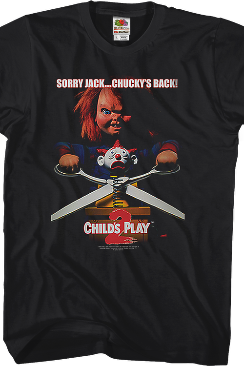152b1f00 Childs Play 2 Shirt: 80s Movies Child's Play T-shirt