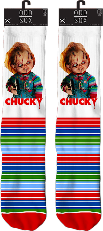 Chucky Child's Play Socks
