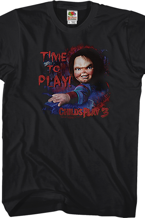 Time To Play Child's Play T-Shirt
