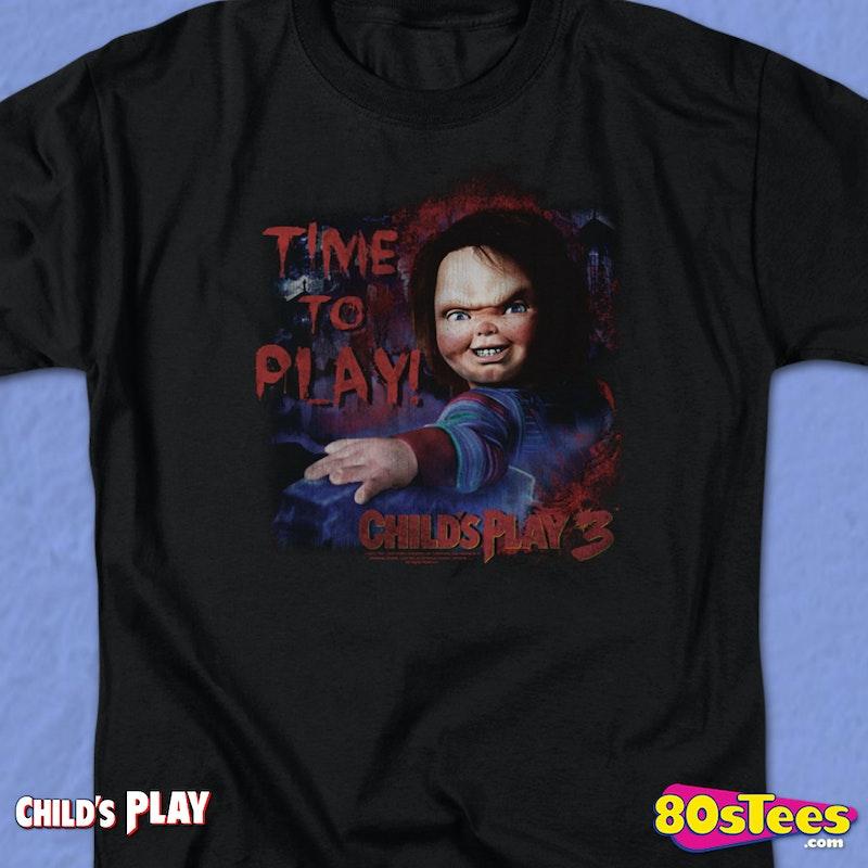bcfcd2b7 Time To Play Child's Play T-Shirt. Men's T-Shirt