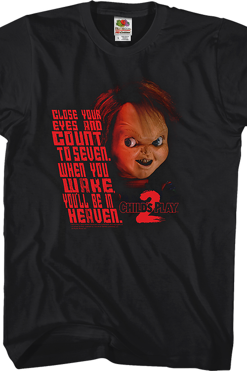 5a6fe59e93e66 Close Your Eyes Child's Play 2 T-Shirt