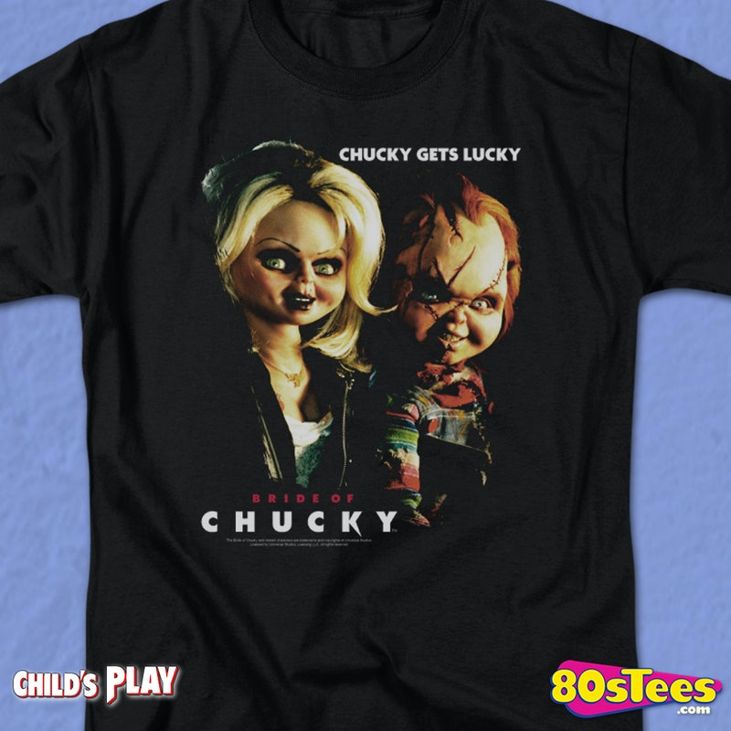 3f61c1828 Bride of Chucky T-Shirt: Child's Play Mens T-Shirt