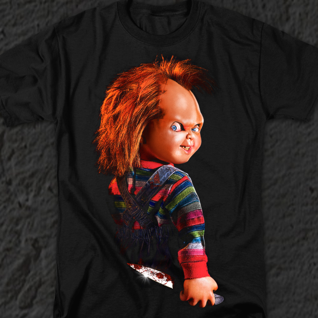 Ilion Clothing Co Childs Play Toddler Chucky T-Shirt