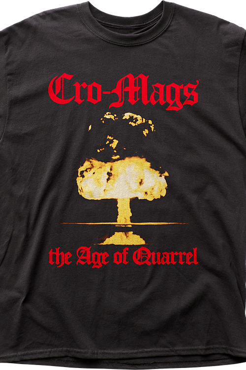 The Age of Quarrel Cro-Mags T-Shirt