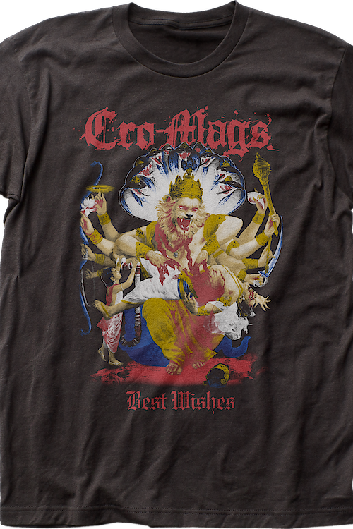 Best Wishes Cro-Mags T-Shirt
